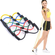 New Tension Exercise Resistance Gym Band Strength Weight Training Workout Yoga *