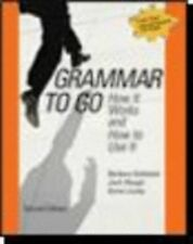 Grammar To Go by Barbara Goldstein, 2nd edition, 2007