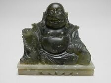 Fine Old Chinese Soapstone  Statue of Buddha. 2.5 ""