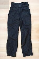 COULOIR CCS WOMENS WINTER SKI PANTS SZ 6 BLACK SNOW SNOWBOARD WATERPROOF ENTRANT