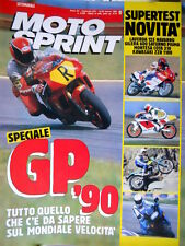 Motosprint 11 1990 Speciale GP 90. Test Laverda 125 Navarro, Gilera 600 [Q78]