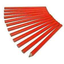 "12 x 7"" CARPENTERS JOINERS BUILDERS MARKING WOODWORK PENCILS SET H2100"