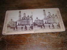 1898.stereoscopic view Moscow kremlin russie.underwood