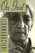 On God by J. KRISHNAMURTI (PAPERBACK) A Search For The Sacred Very Good Cond.
