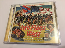 TWO FLAGS WEST / NORTH TO ALA...(Friedhofer) OOP Intrada Score OST Soundtrack CD