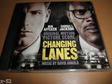 Ben Affleck Sam Jackson CHANGING LANES soundtrack CD David Arnold score OST