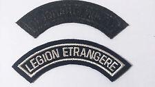 Patch / écusson de bras pour mission OPEX Banane Légion Étrangère  version 1°REC