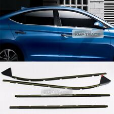 OEM Chrome Weather Strip Door Belt Outside Window Frame for HYUNDAI 2017 Elantra
