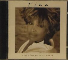 TINA TURNER 'WHAT'S LOVE GOT TO DO WITH IT' 14-TRACK CD