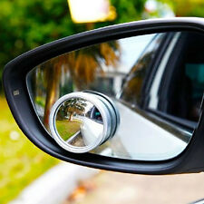 Wide Angle Convex Car Auto Blind Spot Round Stick-On Side Rearview View Mirror