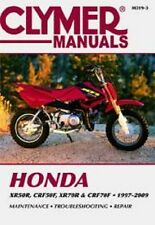 Clymer Repair Service Shop Manual Vintage Honda XR50R 2000-2003 CRF50F 2004-2009