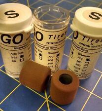 Go Tires .770 tall 3/32 axle 3 pair Brown D13 Soft Mid America Naperville