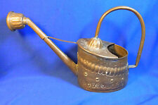 Vintage German Copper Watering Can Wrought  Spout #