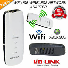 WIFI USB Wireless Network Adapter per XBOX 360 LIVE & PS3 UK STOCK