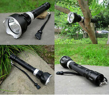 New 2000LM T6 LED XML Cree underwater scuba diving Flashlight lamp torch light