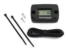 Resettable Tachometer / Hour Meter for Lawn Garden Tractors Mowers & Zero Turns
