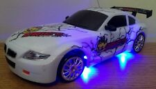 BMW Z4 Deportes Recargable De Radio Control Remoto Auto-Rápido Speed Drift Car Blanco