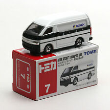 TOMY TOMICA 7 NO.48 TOYTOA HIACE ALSOK SECURITY TRANSPORT CAR
