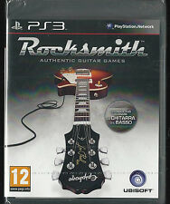 Playstation 3 Rocksmith (game only no LEAD ) ITALY bundle copy (English play)