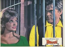 JEFFREY HUNTER DIANE LORYS MURIETA 1965 VINTAGE FRENCH LOBBY CARD N°3