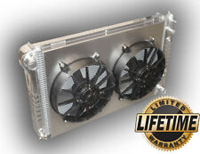 The BEST Aluminum Radiator 1978 - 1988 Monte Carlo G-Body - DUAL FANS 3000 CFM