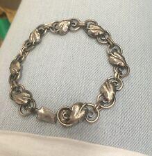 Vintage Danish Silver Bracelet GK Smycken 1948