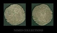 MONNAIE ROYALE HENRI II DE NAVARRE 1572/1589 FRANC ARGENT  N 15
