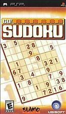 Go Sudoku (Sony PSP, 2006) NEW OPEN BOX