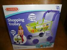 Casdon Shopping Trolley Little Shopper Cart Grocery Pretend Play Food Ages 3-8 N