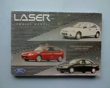 Australian Ford Laser owners glovebox manual book.