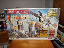 MEGA BLOKS, KING ARTHUR, BATTLE ACTION CASTLE, #96121, NEW IN BOX, 2008