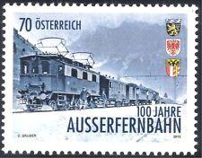 Austria 2013 Trains/Electric Locomotives/Railways/Rail/Transport 1v (at1009)