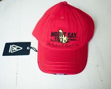 nwt new mount gay mt gay gaastra hat 58cm st. barts bucket 2016 super yacht