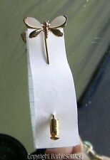Vintage Mother Of Pearl Hatpin Stick pin Butterfly 2 1/8""