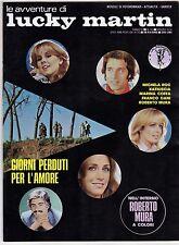 fotoromanzo LE AVVENTURE DI LUCKY MARTIN ANNO 1976 NUMERO 90 MURA KATIUSCIA ROC