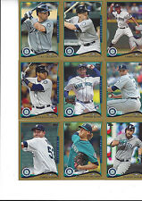 2014 Topps Update Gold #/2014 Austin Jackson Seattle Mariners US 168