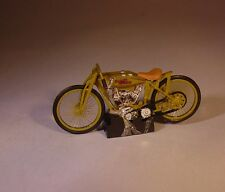 100% HOT WHEELS 1920 HARLEY DAVIDSON DIRT TRACK / CIRCLE TRACK RACER COLLECTIBLE