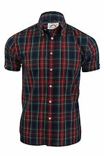 Mens Shirt by Brutus Trimfit 'Heritage' Tartan Check