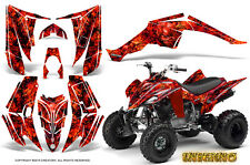 YAMAHA RAPTOR 350 GRAPHICS KIT CREATORX DECALS STICKERS INFERNO R
