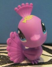 Littlest Pet Shop #3325 Purple Peacock Blemish
