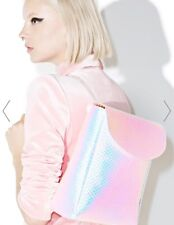 Current Mood HOLOGRAPHIC Zenon Backpack Bag Authentic  NWT