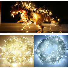 String Fairy Light Battery Operated Party Porch Patio Decor 20LED 2M Light WHITE