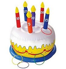 Birthday Cake Ring Toss Party Game - 210163