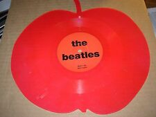 "BEATLES interview ( rock ) 7"" / 45 - red apple shaped -"