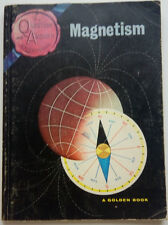 QUESTION AND ANSWER ADVENTURES-MAGNETISM-1962 GOLDEN BOOK--FIRST PRINTING