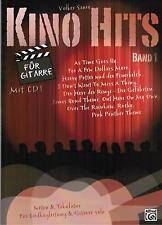 Gitarre Noten : KINO HITS 1  mit CD - (Noten & Tabulatur) - Filmmusik leM i- MS