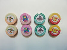 Candy Kisses Natural Lip Balm 8 pack clear mint chocolate marvelous mango etc..