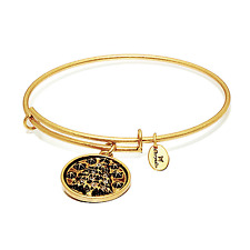 Chrysalis Petite Tree Expandable Bangle in 14k Gold Plate, CRBT0410GPSML