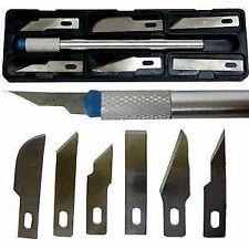 7 PCS Precision Hobby Knife Set Multipurpose Knife Set