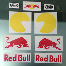 Dani Pedrosa Race Helmet Decal Stickers - Complete Sticker kit for Arai RX-7 GP
